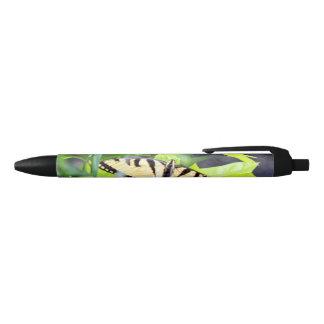 Tiger Swallowtail Butterfly Black Ink Pen