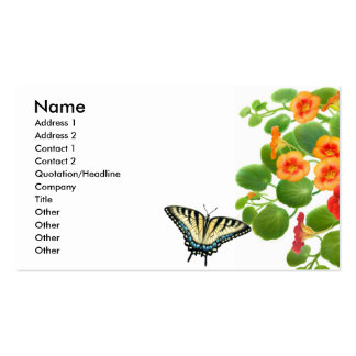 Tiger Swallowtail Butterfly Business Card