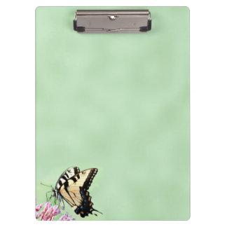 Tiger swallowtail butterfly clipboard