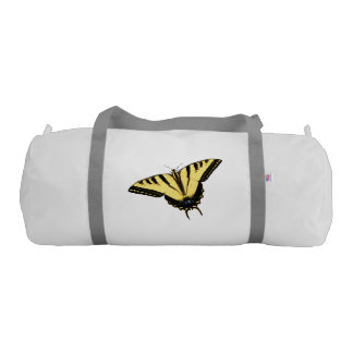 Tiger Swallowtail butterfly gym bag