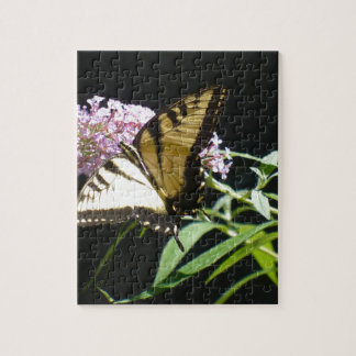 Tiger Swallowtail Butterfly Jigsaw Puzzle