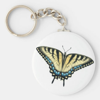 Tiger Swallowtail Butterfly Keychain