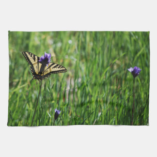 Tiger Swallowtail Butterfly Towel