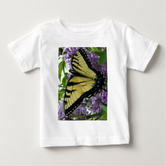 Tiger swallowtail butterfly lilac photo baby T-Shirt