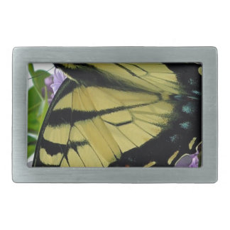 Tiger swallowtail butterfly lilac photo belt buckles