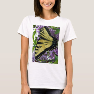 Tiger swallowtail butterfly lilac photo T-Shirt