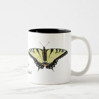 Tiger Swallowtail Butterfly Coffee Mugs