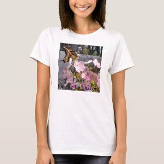 Tiger Swallowtail Butterfly on hydrangea T-Shirt