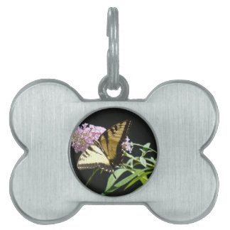 Tiger Swallowtail Butterfly Pet ID Tags