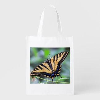 Tiger Swallowtail Butterfly Reusable Bag