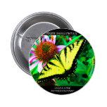 Tiger Swallowtail Button