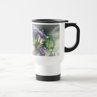 Tiger Swallowtail & Friend 15 Oz Stainless Steel Travel Mug