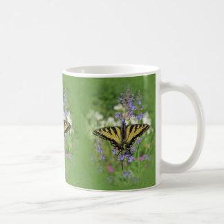 Tiger Swallowtail in the Garden Coffee Mug