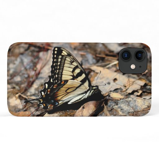 Tiger Swallowtail, iPhone Case. iPhone 11 Case