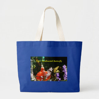 Tiger Swallowtail Large Tote Bag