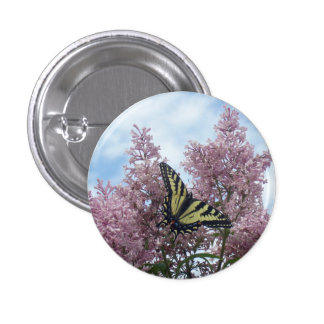 Tiger Swallowtail_lilacs Button