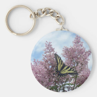 Tiger Swallowtail_lilacs Key Chain
