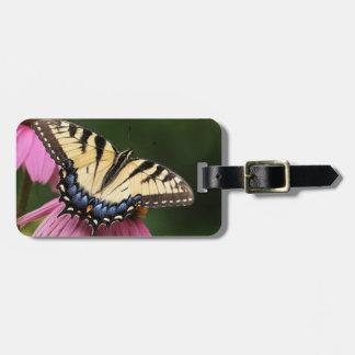 Tiger Swallowtail Travel Bag Tags