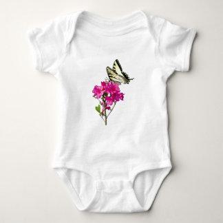 Tiger Swallowtail on Azaleas Kids Baby Bodysuit