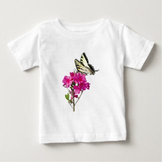 Tiger Swallowtail on Azaleas Kids Baby T-Shirt