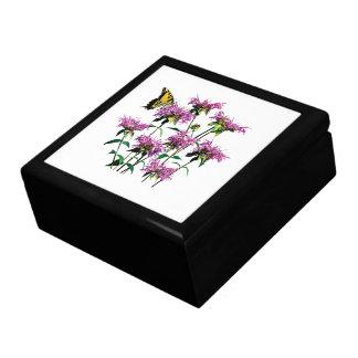 Tiger Swallowtail on Bee Balm Jewelry Box