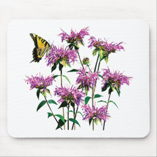Tiger Swallowtail on Bee Balm Mouse Pad