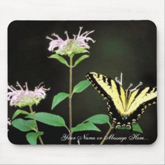 Tiger Swallowtail on Bergamot Mouse Pad