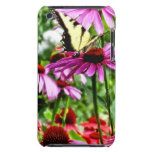 Tiger Swallowtail On Coneflower Barely There iPod Case