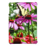 Tiger Swallowtail On Coneflower Cover For The iPad Mini