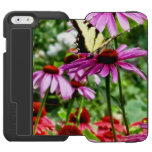 Tiger Swallowtail On Coneflower iPhone 6/6s Wallet Case