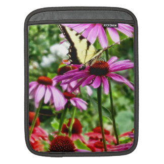 Tiger Swallowtail On Coneflower Sleeve For iPads