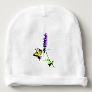 Tiger Swallowtail on Purple Salvia Baby Beanie