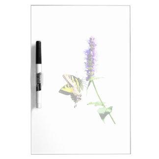 Tiger Swallowtail on Purple Salvia Dry Erase Board