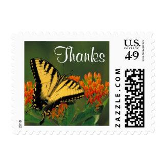 Tiger Swallowtail - Thanks Postage