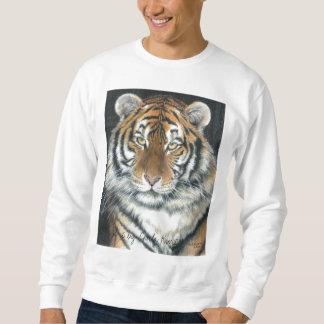 Tiger Sweatshirt, Unisex Adult sizes Pullover Sweatshirt
