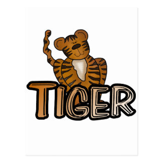Tiger T-shirts and Gifts Postcard