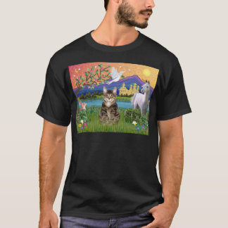 Tiger Tabby Cat  - Fantasy Land T-Shirt