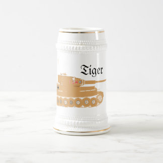 Tiger Tank Beer Stein