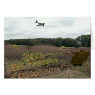 Tiger Tanks Card