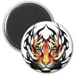 Tiger Tattoo Fridge Magnets