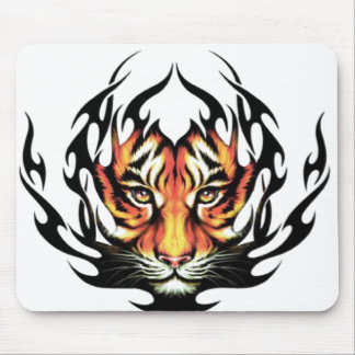 Tiger Tattoo Mouse Pad
