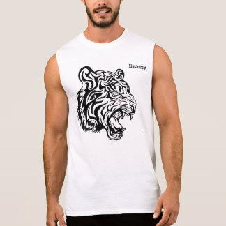 Tiger Tattoo Sleeveless Shirt