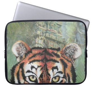 Tiger temple laptop sleeve