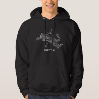 Tiger Thai style mantra hoodie