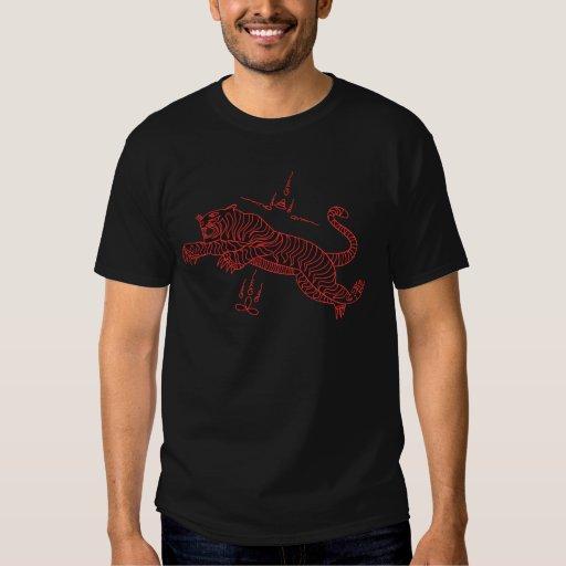 Tiger Thai style mantra T-shirt