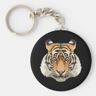 Tiger the king keychain