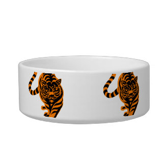 TIGER THE KING OF JUNGLE BOWL