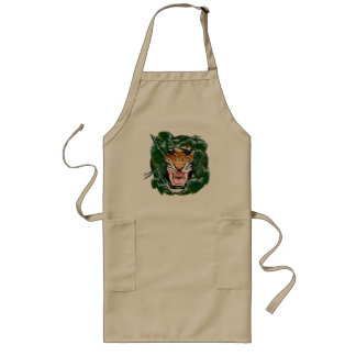 Tiger thru the leaves Aprons