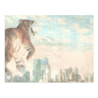 Tiger Tiger Burning Bright Postcards