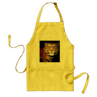Tiger, Tiger In The Night II Adult Apron